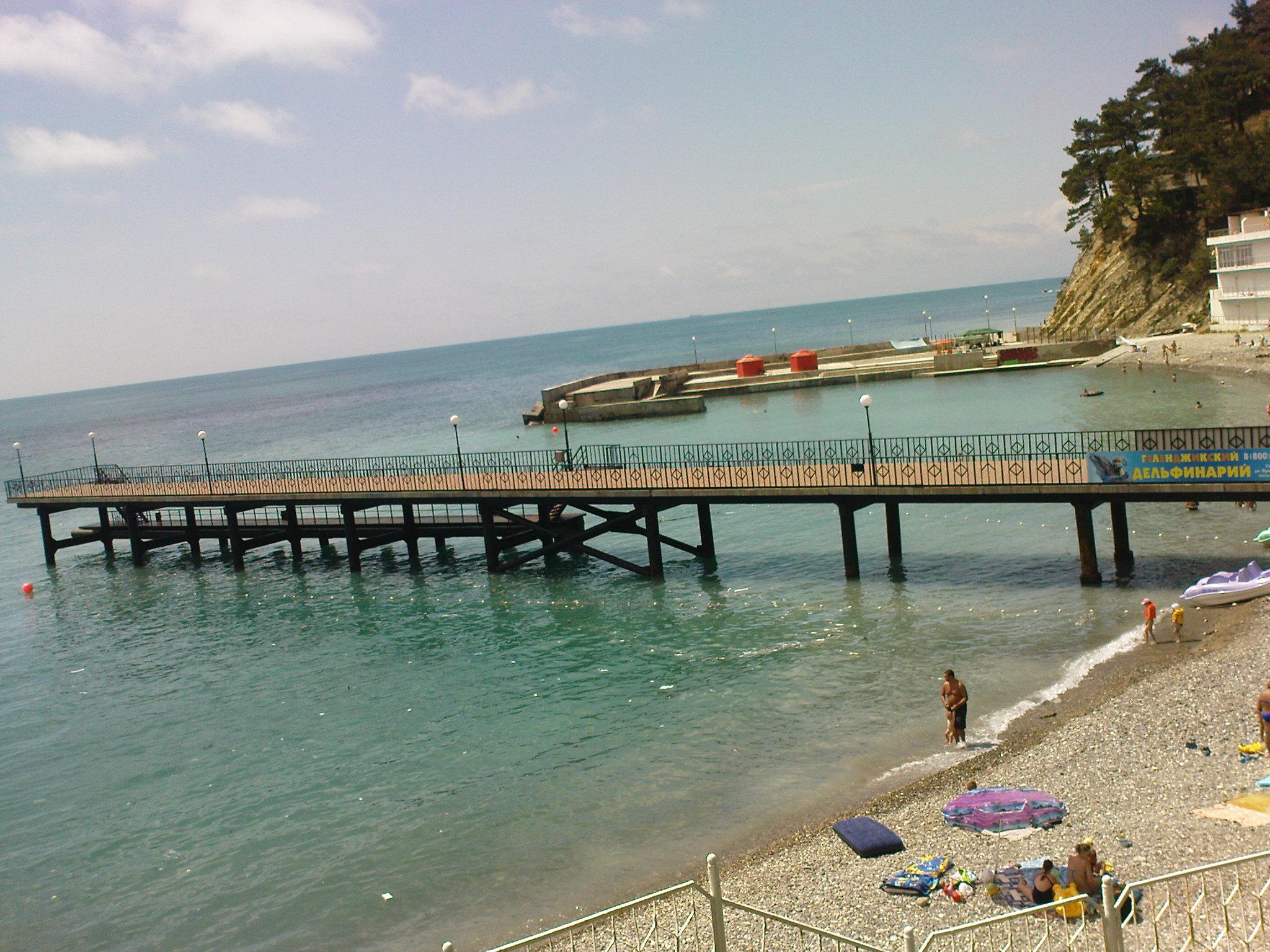 Джанхот пляж пристань июнь- июль 2013
